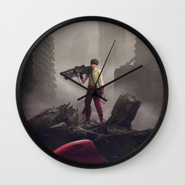 Shotaro Kaneda Wall Clock