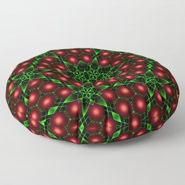 Christmas Patterns Floor Pillow