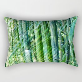 Bamboo Screen Rectangular Pillow