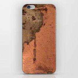 Tarnished Copper rustic decor iPhone Skin