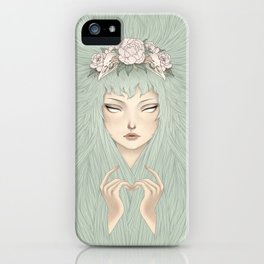 Forest Invocation iPhone Case