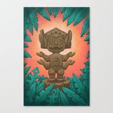 Tiki 626 Canvas Print