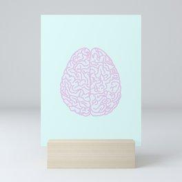 Pastel Brain Mini Art Print