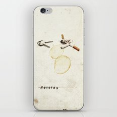 Nothing (...) | Collage iPhone Skin
