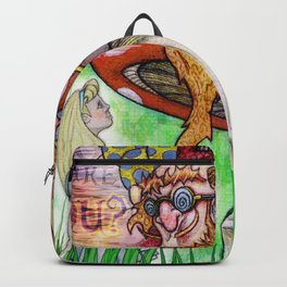Alice and the Caterpillar Backpack