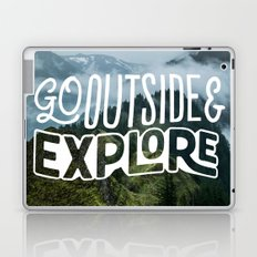 Go outside & explore Laptop & iPad Skin