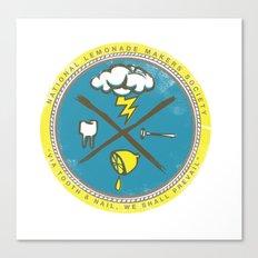 National Lemonade Makers Society Crest Canvas Print