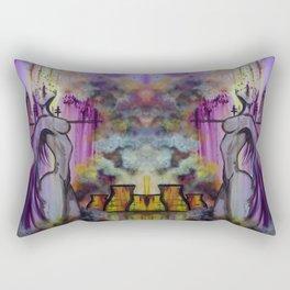 Toxic Angel Rectangular Pillow