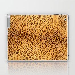 Brown Beige Leopard Animal Print Laptop & iPad Skin