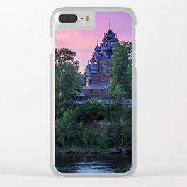 Delightful Russian evening Clear iPhone Case