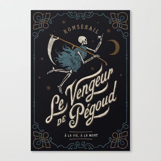 Le Vengeur de Pégoud Canvas Print