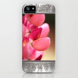 Lupine named Gallery Red iPhone Case