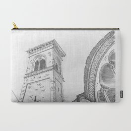 Bergamo Square, Italy Carry-All Pouch