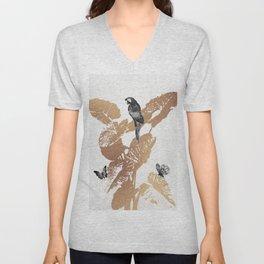 Fluttering Nature II Unisex V-Neck