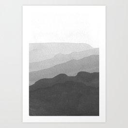 Landscape#3 Art Print