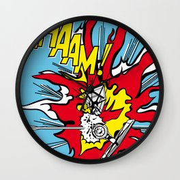 Luke Lichtenstein - Whaam! Wall Clock