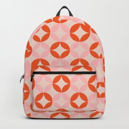 retro diamond Backpack