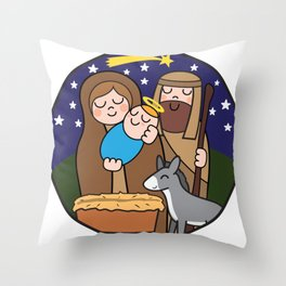 Xmas Throw Pillow