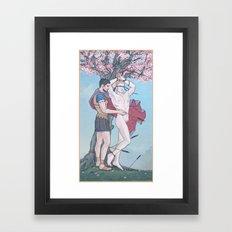 The Liberation of Saint Sebastian Framed Art Print