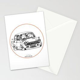 Crazy Car Art 0223 Stationery Cards