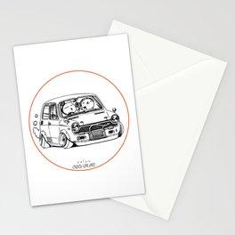 Crazy Car Art 0223 Stationery Cards