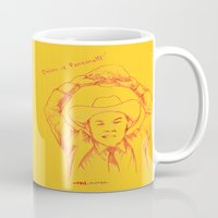anchorman Mugs featuring Anchorman: Dreams of Fantana!!! by Red Misery