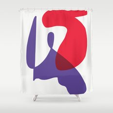 Matisse Shapes 10 Shower Curtain