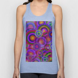 Raindrops Unisex Tank Top