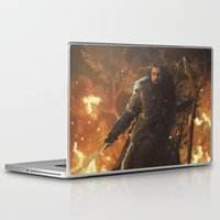 thorin Laptop & iPad Skins featuring Thorin by PrintsofErebor