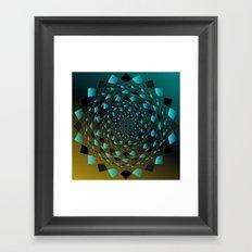 Magic Circle Framed Art Print