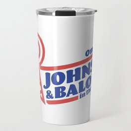Johnson & Baloney Travel Mug