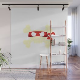 Ninja-Pirate Jolly Roger Wall Mural