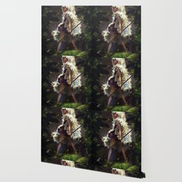 Mononoke spear Wallpaper
