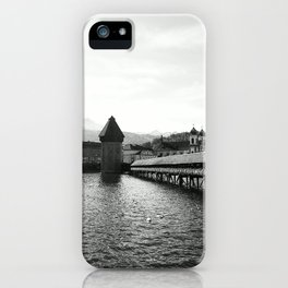 Luzern - Kapellturm iPhone Case
