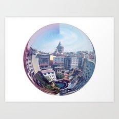 Galata Sphere Art Print