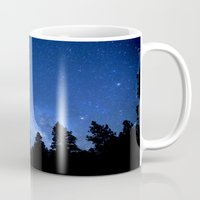 milky way Mugs featuring Milky Way by 2sweet4words Designs