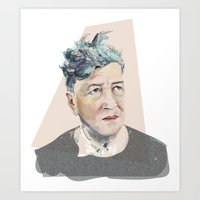 david lynch Art Prints featuring Lynch by Jennild