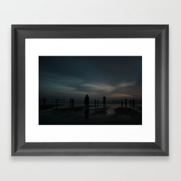 Ghost Beach Framed Art Print