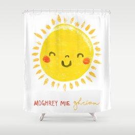 Moghrey Mie Ghrian Shower Curtain