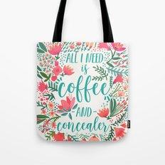 Coffee & Concealer – Juicy Palette Tote Bag