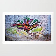 Bangkok Bloom Art Print