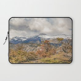 Forest and Snowy Mountains, Patagonia, Argentina Laptop Sleeve