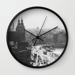 Amsterdam Transit Wall Clock