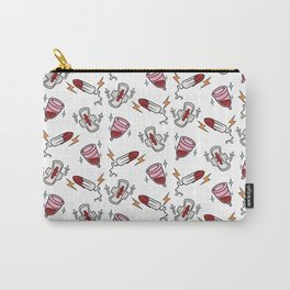 Girl Gang Print Carry-All Pouch
