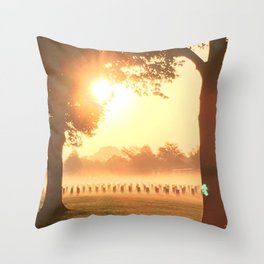 Fort Snelling Throw Pillow