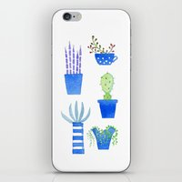succulents iPhone & iPod Skins featuring Succulents by Nic Squirrell