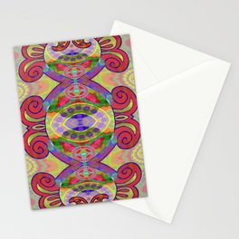 Boujee Boho Circus Medallion Stationery Cards