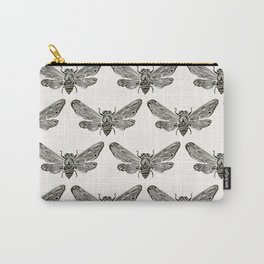 Summer Cicada – Black Palette Carry-All Pouch