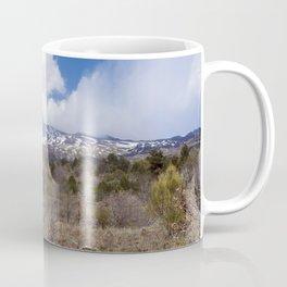 Sicilian Volcano ETNA Coffee Mug