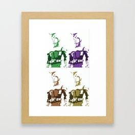 hyper deco Framed Art Print